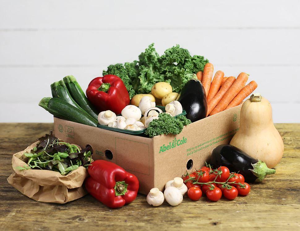 Large Very Veggie Veg Box Organic Veg Veggies Vegetable Boxes
