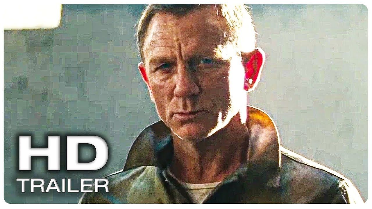 James Bond 25 No Time To Die Trailer 1 Teaser Official New
