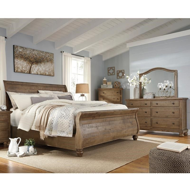 marvelous King Bedroom Ideas Part - 8: Trishley 5 Piece King Bedroom | Weekends Only Furniture and Mattress