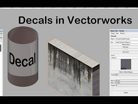decals in vw vectorworks pinterest rh pinterest com Nemetschek Vectorworks Inc Vectorworks Architect 2015