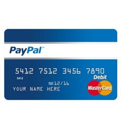 virtual credit card for paypal verification paypal vcc - Visa Debit Card Money Adder