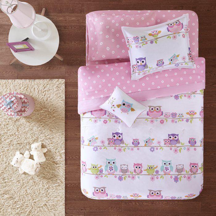 Ensemble D 233 Dredon Loraine Kids Twin Bedding Sets Girls