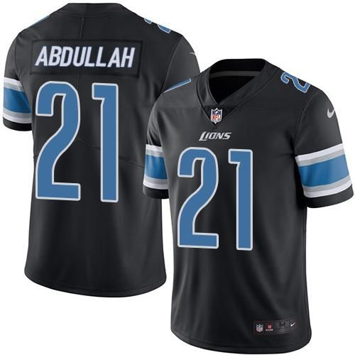 Nike Lions  21 Ameer Abdullah Black Men s Stitched NFL Limited Rush Jersey  And  Broncos Demaryius Thomas 88 jersey f14d22d91