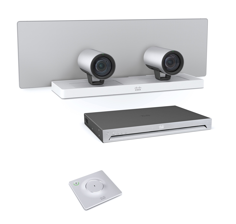 Cisco TelePresence SpeakerTrack 60, Codec SX80, Mic 60