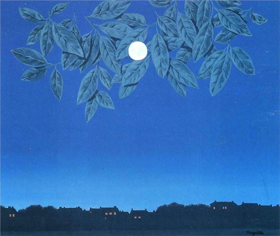 The false mirror - Rene Magritte - WikiArt.org | Rene magritte, Magritte  art, Magritte