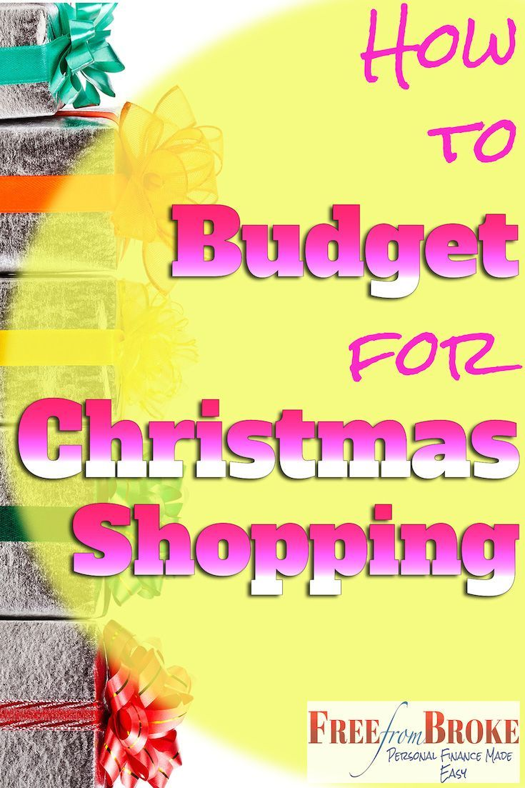 How to budget for christmas shopping your guide to