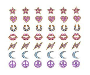 Lena Wald Ear Ink - Temporary tattoos for your ears look like earrings and last 5 days.