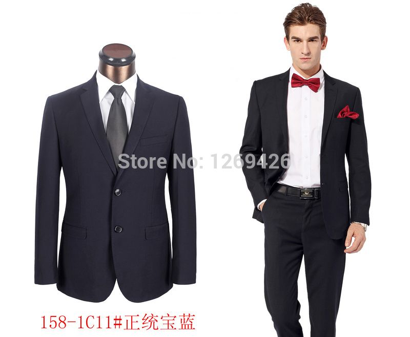 2014 Men\'s business Suits Brand Wedding Western Style Suits Hot ...