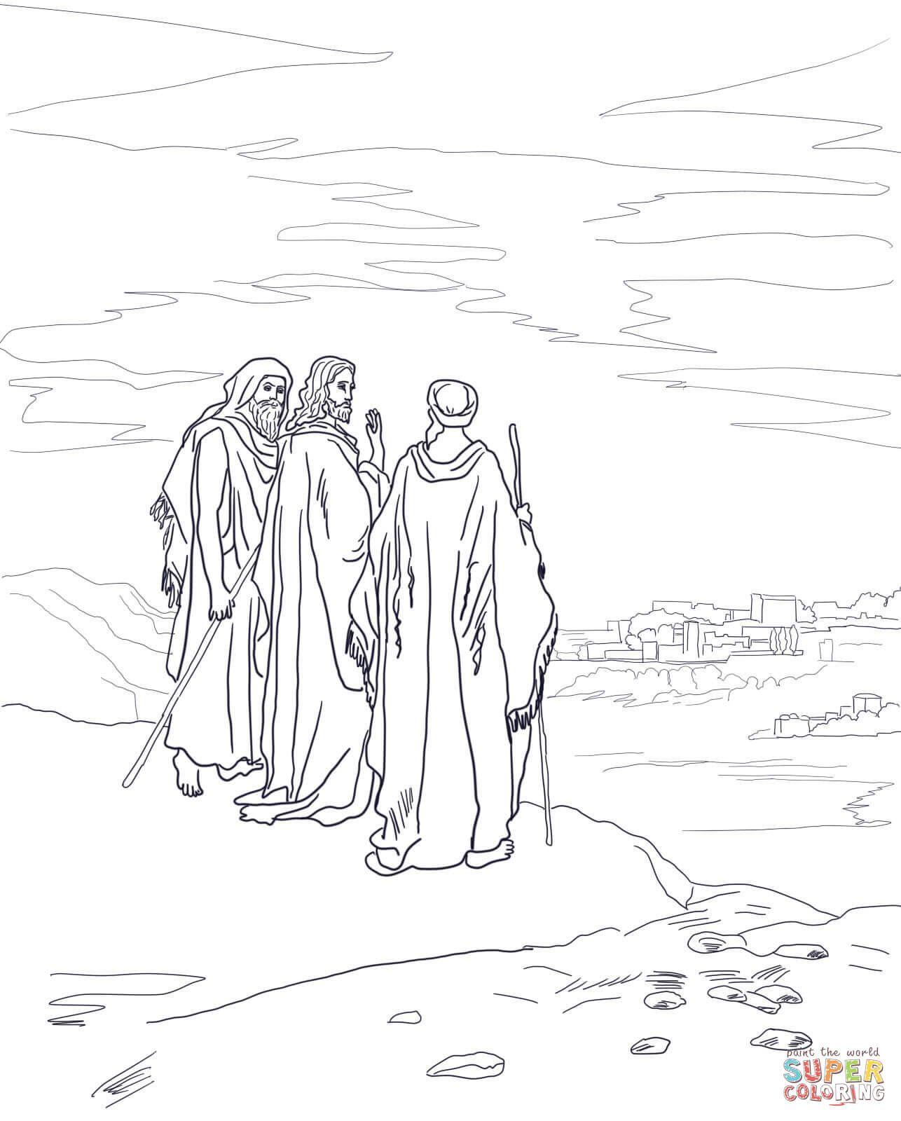 Mark 16 12 13 Luke 24 13 35 The Emma S Disciples Road To Emmaus