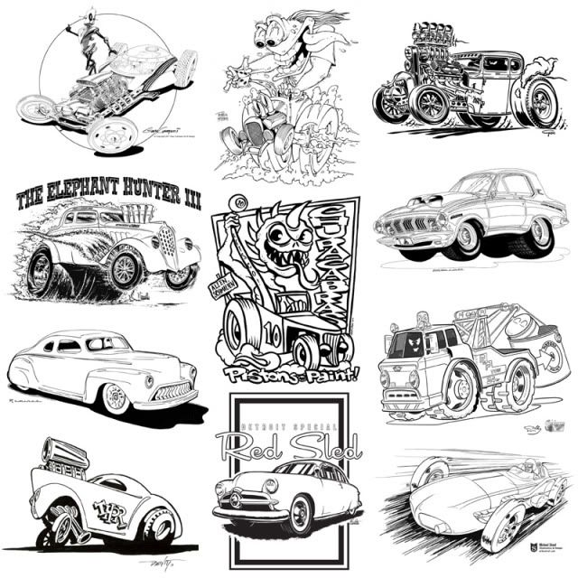 rat rod coloring pages chevy rod colouring pagescolor hot rods pinterest rats cars and cartoon - Hot Rod Coloring Pages