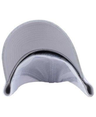 5bd8eb7a9e3 New Era Tampa Bay Rays Tech Sweep 39THIRTY Cap - Gray White M L ...
