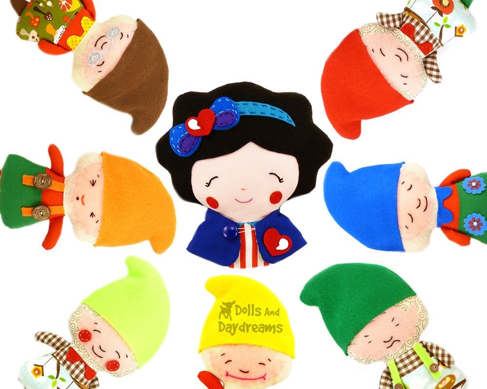 Snow White and The Seven Dwarfs Sewing Pattern