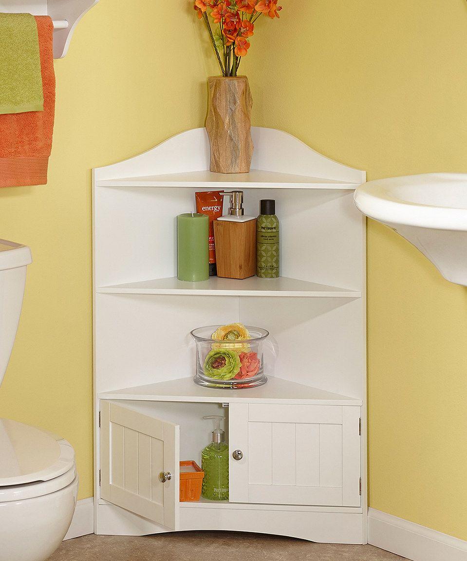River Ridge White Ashland Collection Corner Cabinet | Corner ...