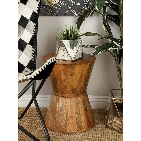 Wood Stool Hourglass Google Search Accent Stool