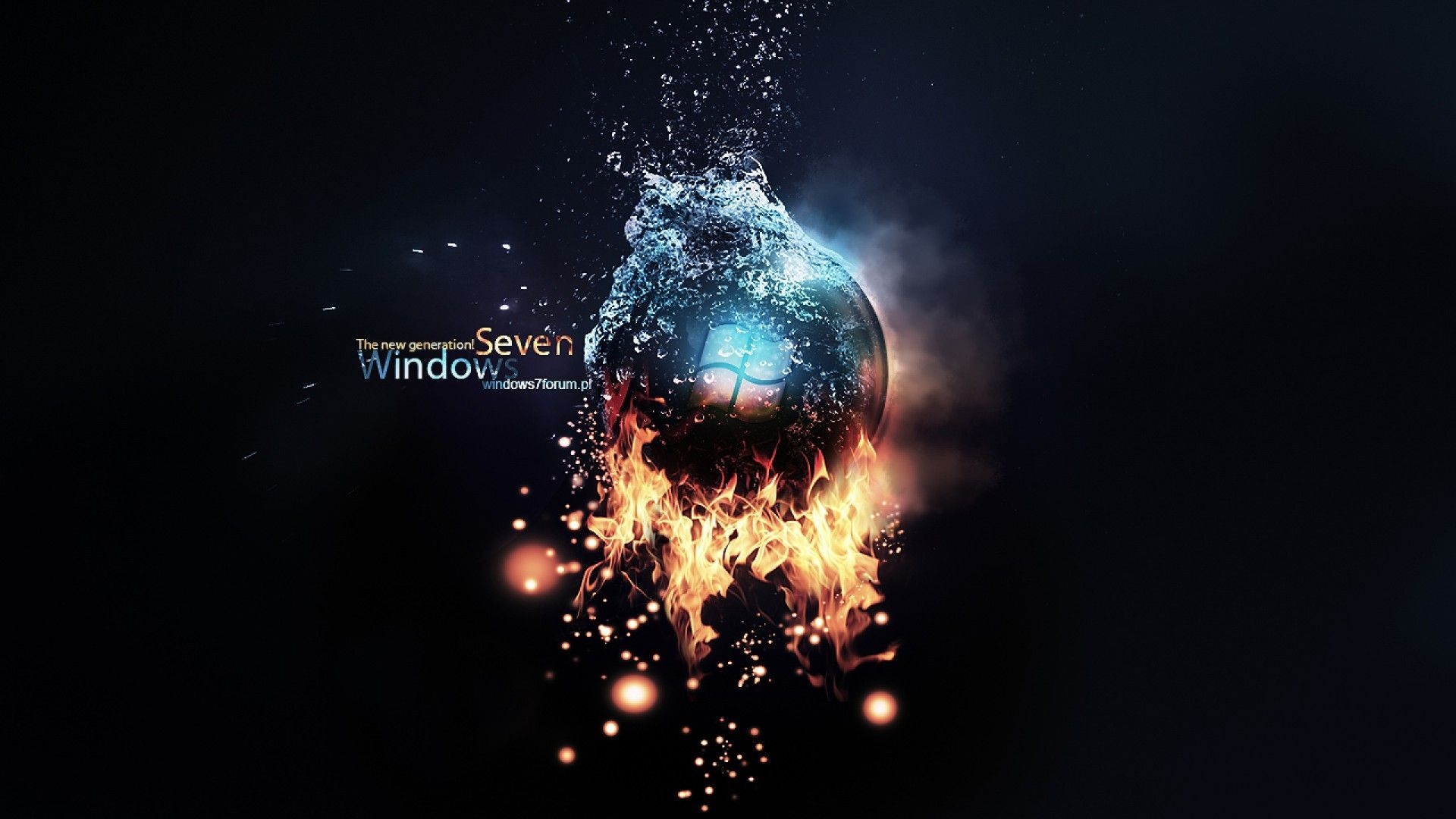 Windows Ultimate Bright Black HD desktop wallpaper ...