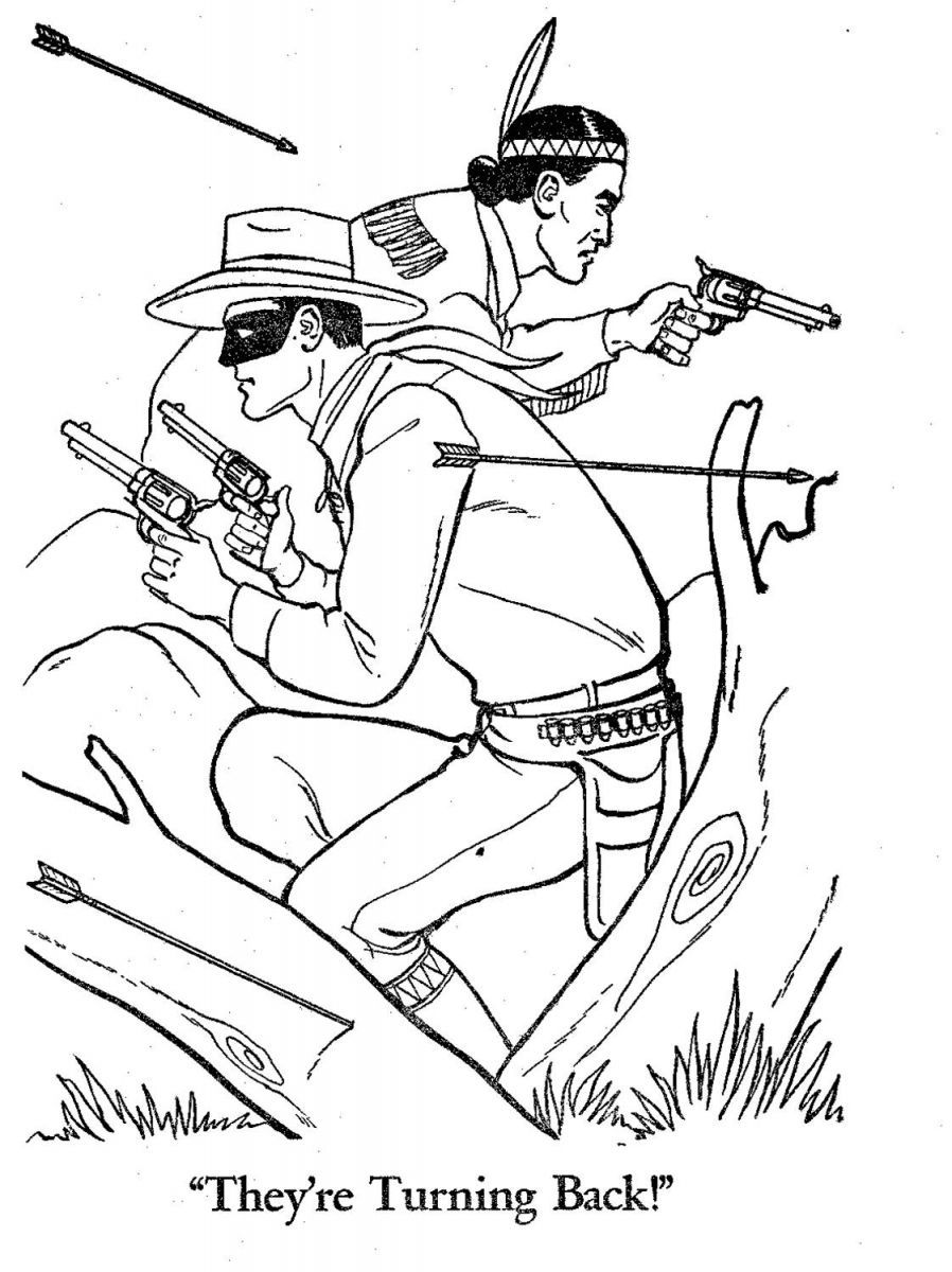 the lone ranger coloring pages see best of photos of the lone