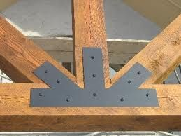 Truss connectors google search connectors pinterest for Old world traditions faux beams