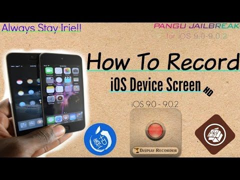 How To Record iPhone, iPod Touch, iPad Screen - iOS 9 0-9 0