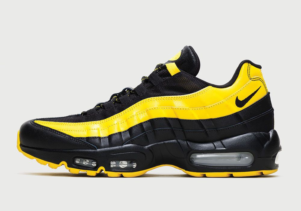 Nike Air Max Plus 95 Frequency Pack White Tour Yellow Black Av7937