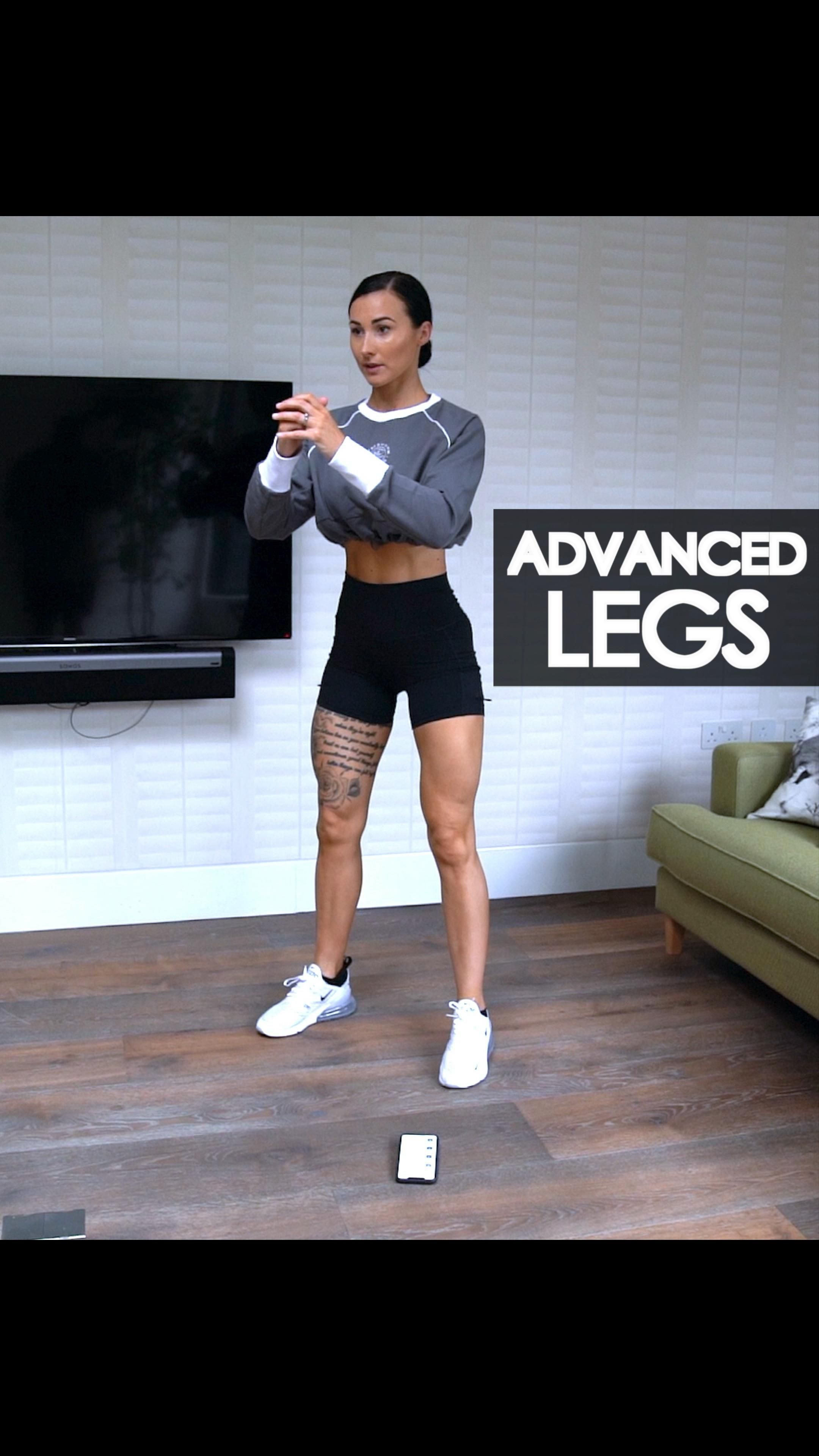 Legs Advanced Home Workout | Strong and Sxy