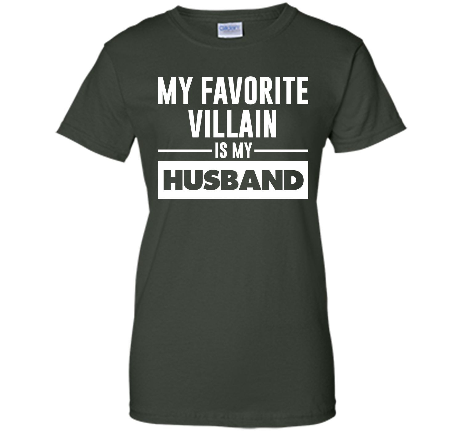 My Favorite Villain is My Husband Funny Graphic T-shirt T-Shirt