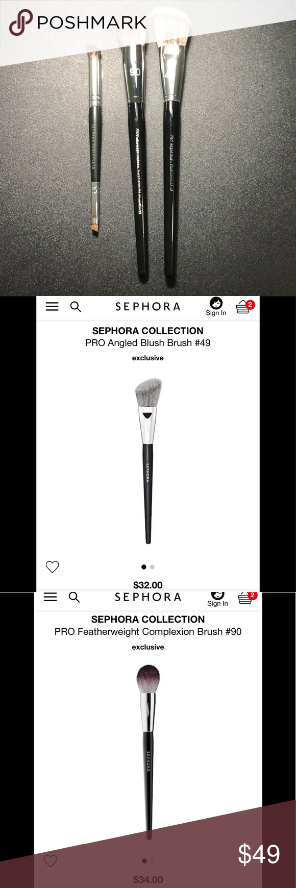 Pro Featherweight Complexion Brush #90 by Sephora Collection #20