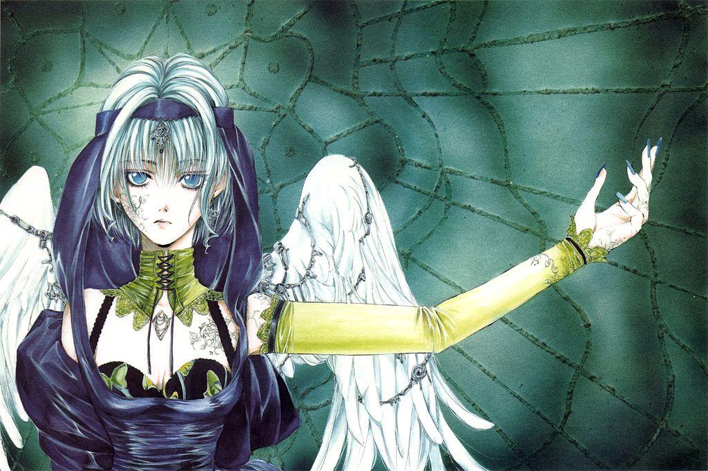 Angel Sanctuary Manga Art Anime Angel Anime