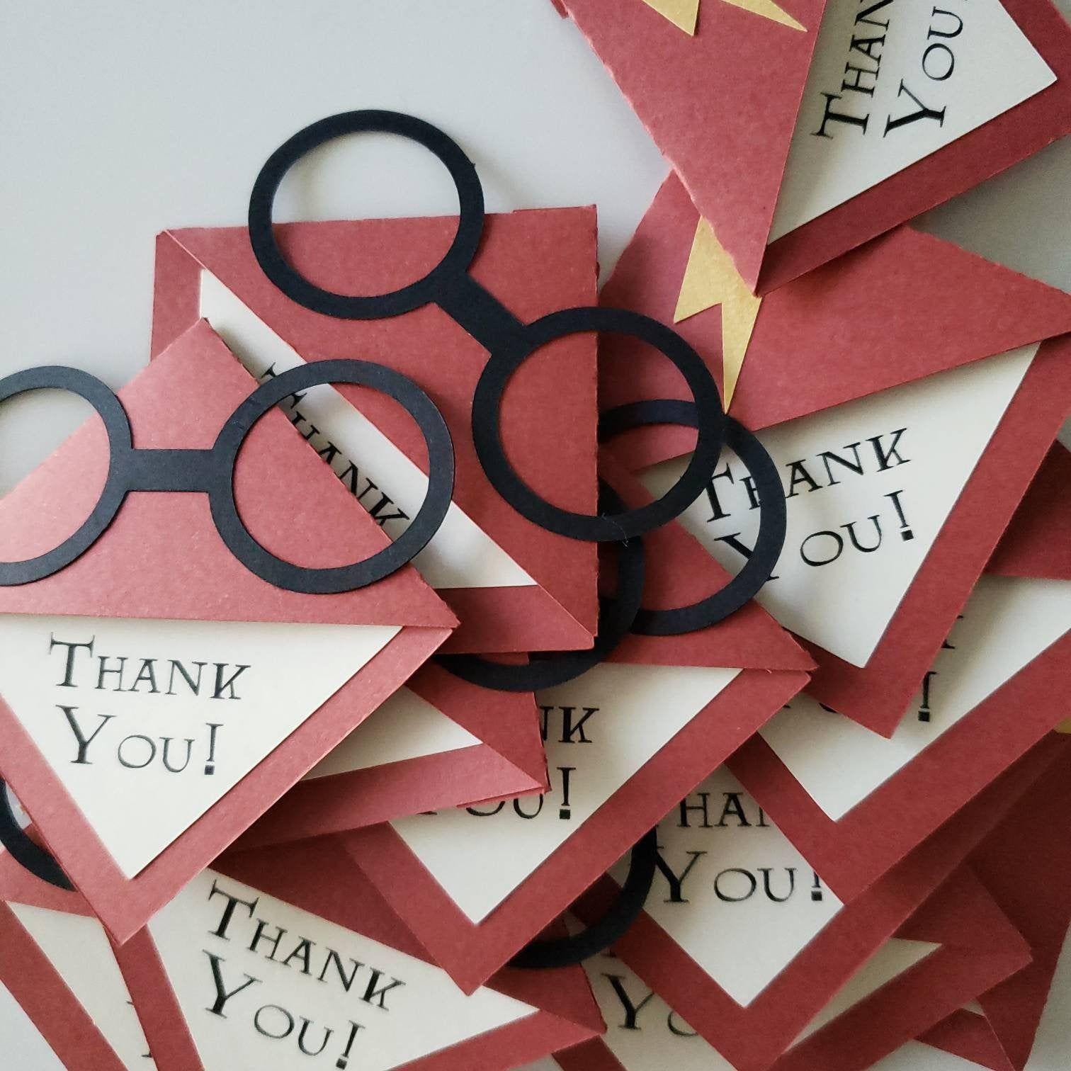 Harry potter corner bookmark teacher gifts lehrer