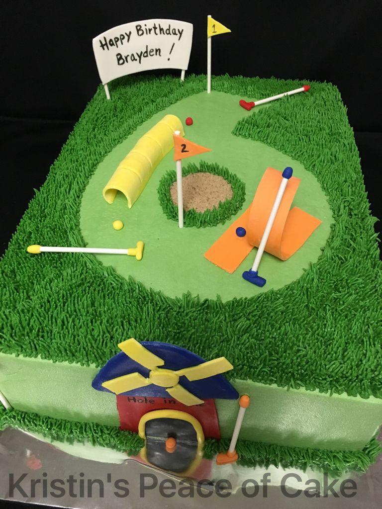 Mini Golf Cart Cake Topper