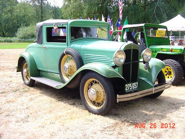 1931 Willys 97 Coupe
