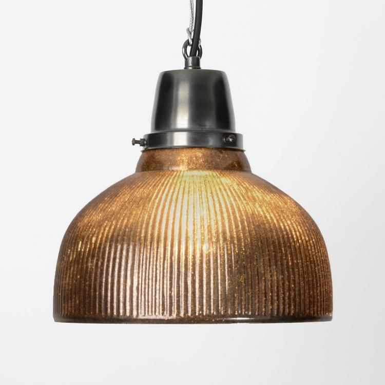 The Glass Dome Light Antique Finish Decorative Glass Pendant Lights Based On A Vintage Ame Vintage Industrial Lighting Glass Lighting Dome Pendant Lighting