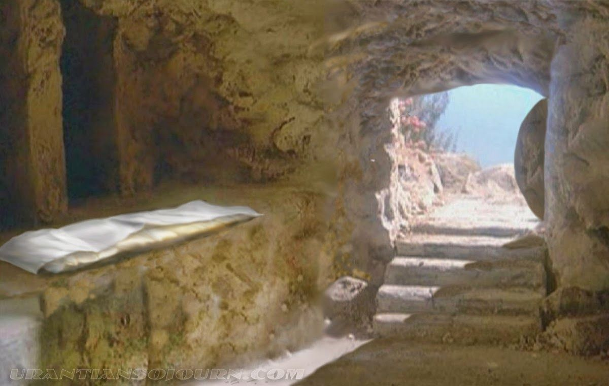 By Faith Not Feeling. | Jesus tomb, Jesus pictures, Empty tomb