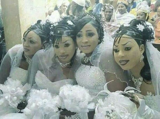Wedding Makeup Gone Wrong