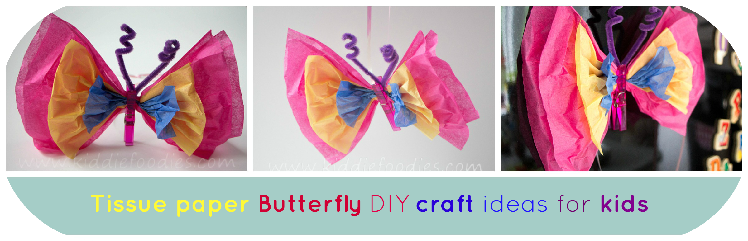 Tissue_paper_Butterfly_DIY_craft_ideas_for_kids