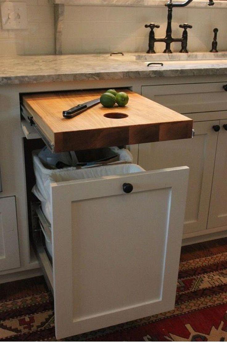 Finden Sie andere Ideen: Küchenarbeitsplatten, die auf einem Etat kleine Küche umgestalten ...  #andere #einem #finden #ideen #kleine #kuche #kuchenarbeitsplatten #kücheideeneinrichtung