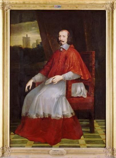 Philippe de Champaigne, Le Cardinal Mazarin - Musée Condé, Chantilly.