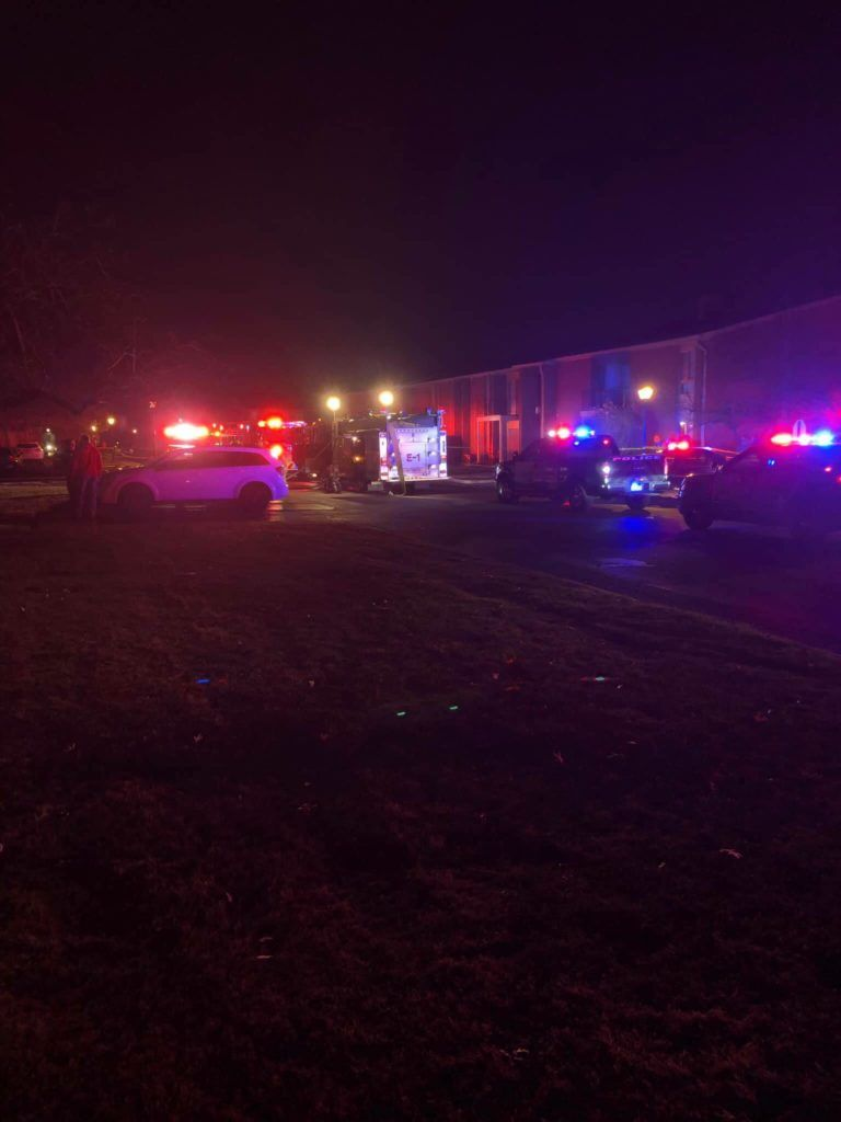 Fire Strikes At Macomb Manor Apartments Video Archive Of Mi