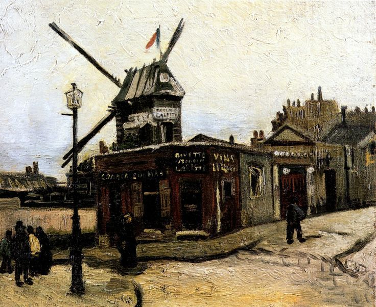 The Mill of Wafer Vincent van Gogh .