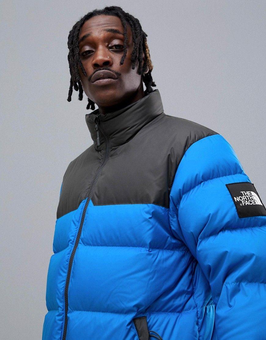 The North Face 1992 Nuptse Jacket In Blue Blue Modesens Nuptse Jacket Jackets Latest Fashion Clothes [ 1110 x 870 Pixel ]