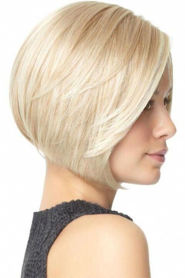 Women Blonde Highlight Side Part Short Bob Straight Synthetic Wig - One Size #Bobhaircut in 2020 ...