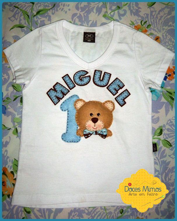 Camiseta personalizada-urso