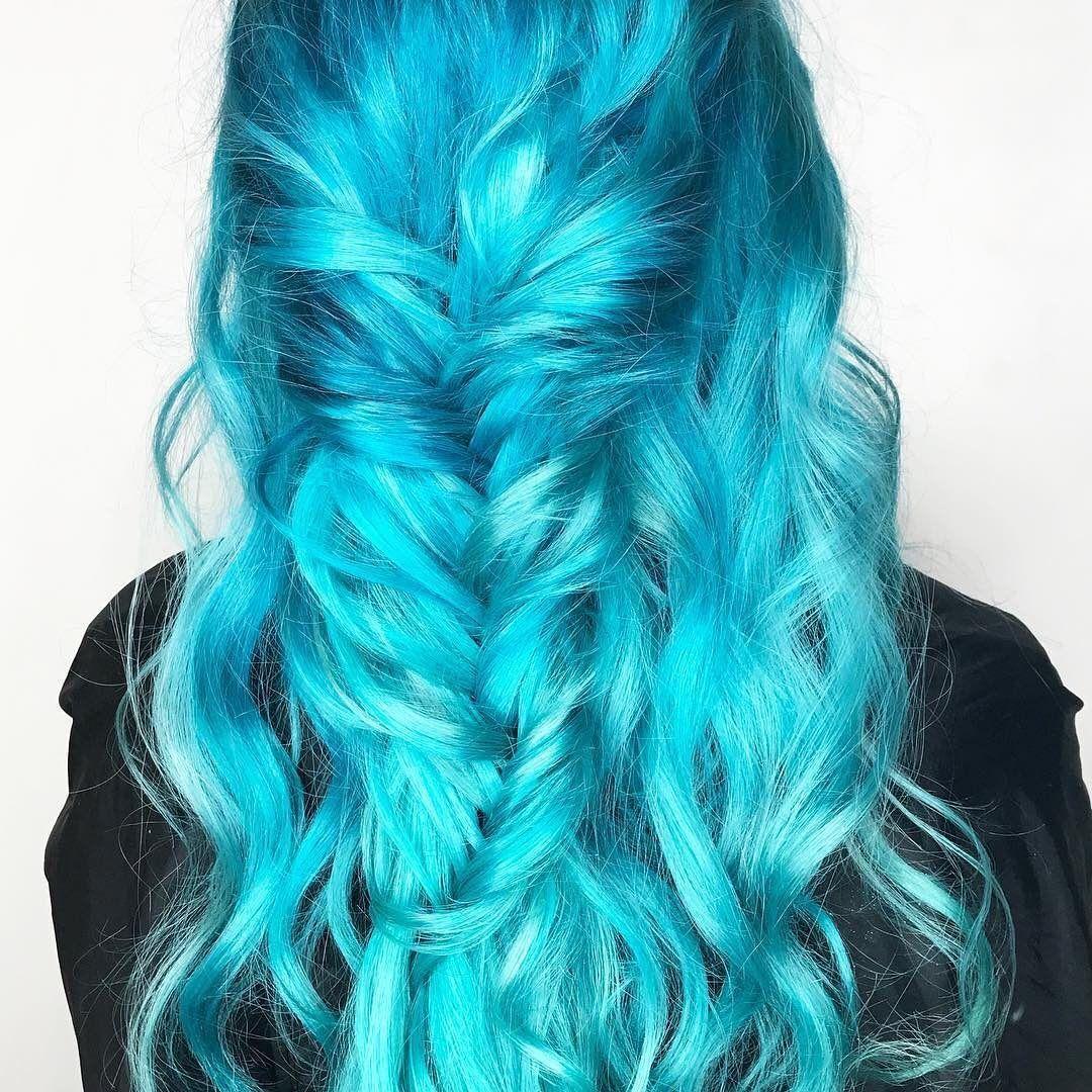 Colourful Hair Major Mermaid Hairspiration
