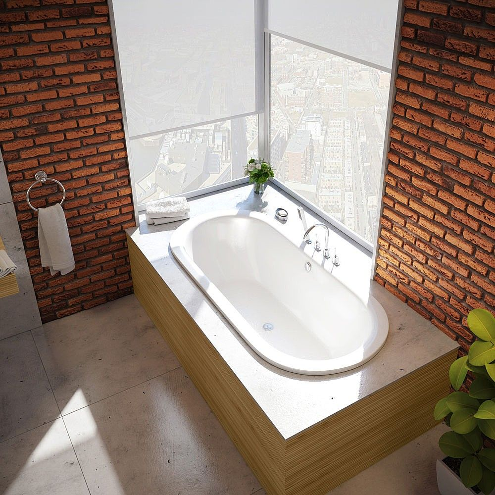 Bette Pur Oval Steel Inset Bath | Inset Baths | CP Hart