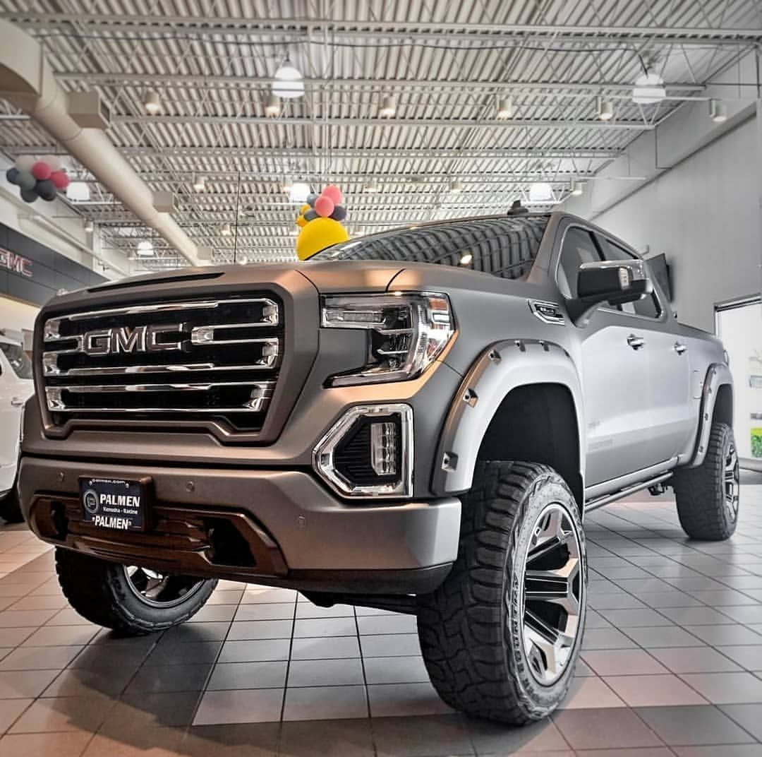 One Of A Kind At Palmen Gmc This Matte Sterling Gray Sca Gmc Black Widow Is Ready For Adventure If You Live In The Kenosha Gmc Gmc Trucks Sierra Gmc Trucks
