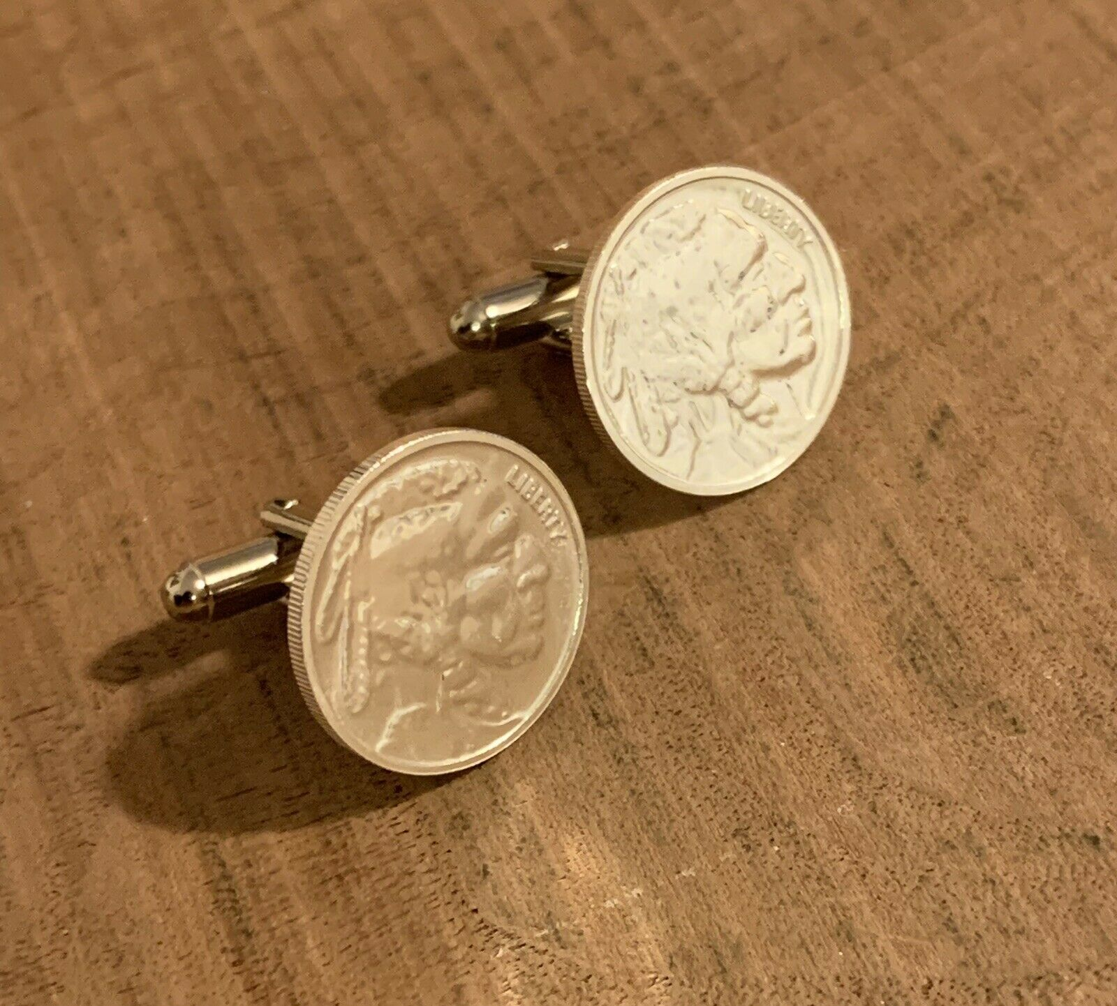 Buffalo Indian Head 1 10 Oz Silver Art Round Coin Jewelry Cuff Links Handmade Coin Jewelry Ideas Of Coin Jewe Coin Jewelry Handmade Coin Jewelry Silver Art