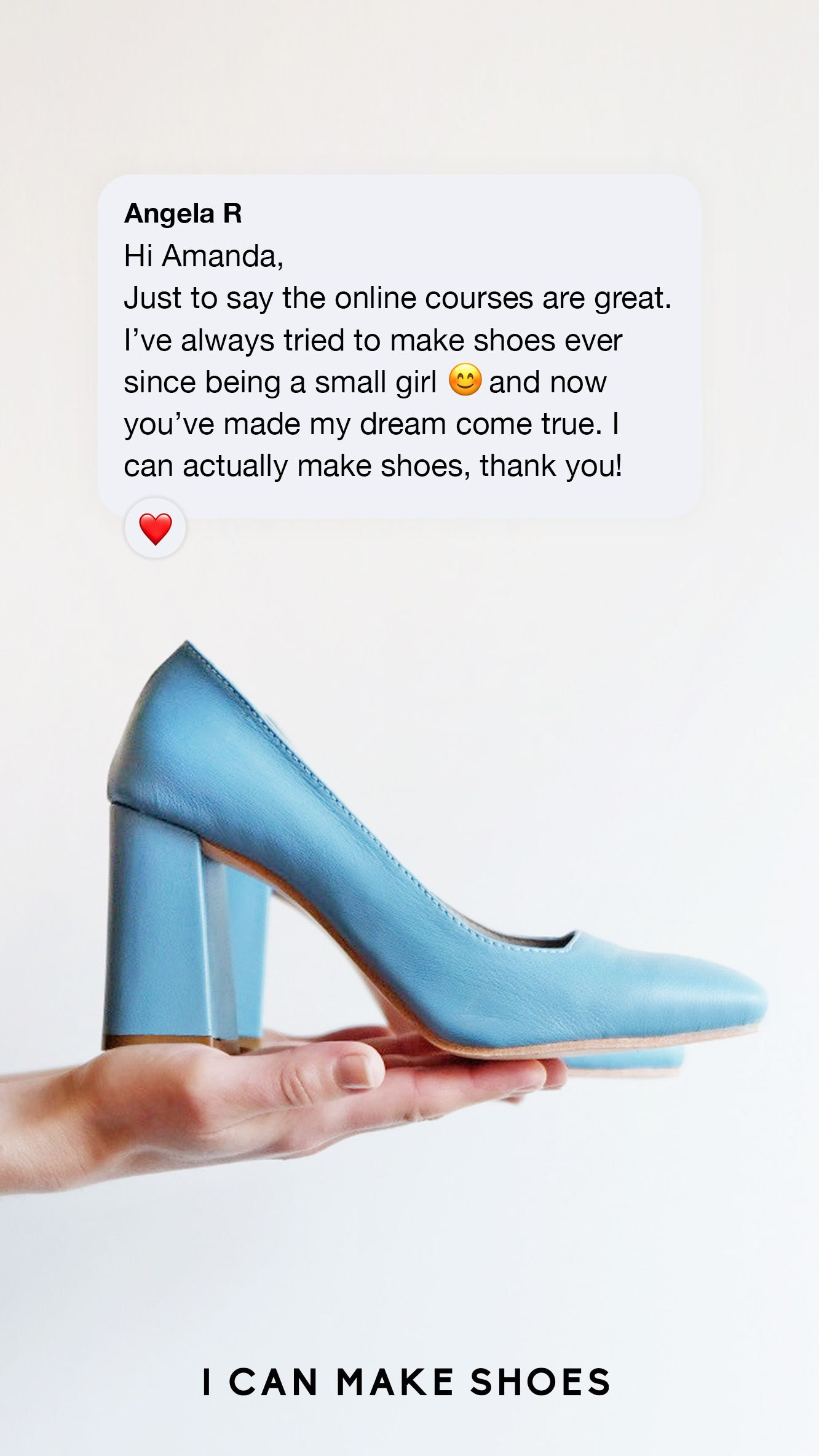 Online Course - Home Shoemaking in 2020