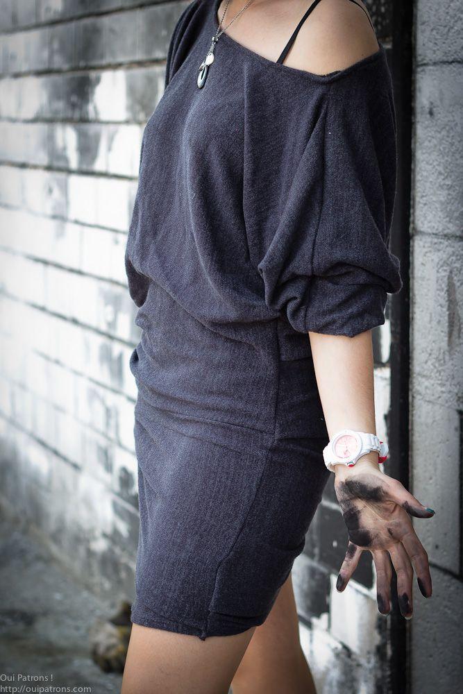 Connu patron gratuit robe jersey femme | Robes à faire | Pinterest  DQ18