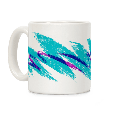 90s Jazz Wave Coffee Mug | LookHUMAN | Tumblr-esque | Mugs