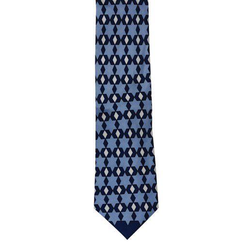 Silk Handkerchief - Black base with stripes in white and fuchsia Notch GLK3RZ