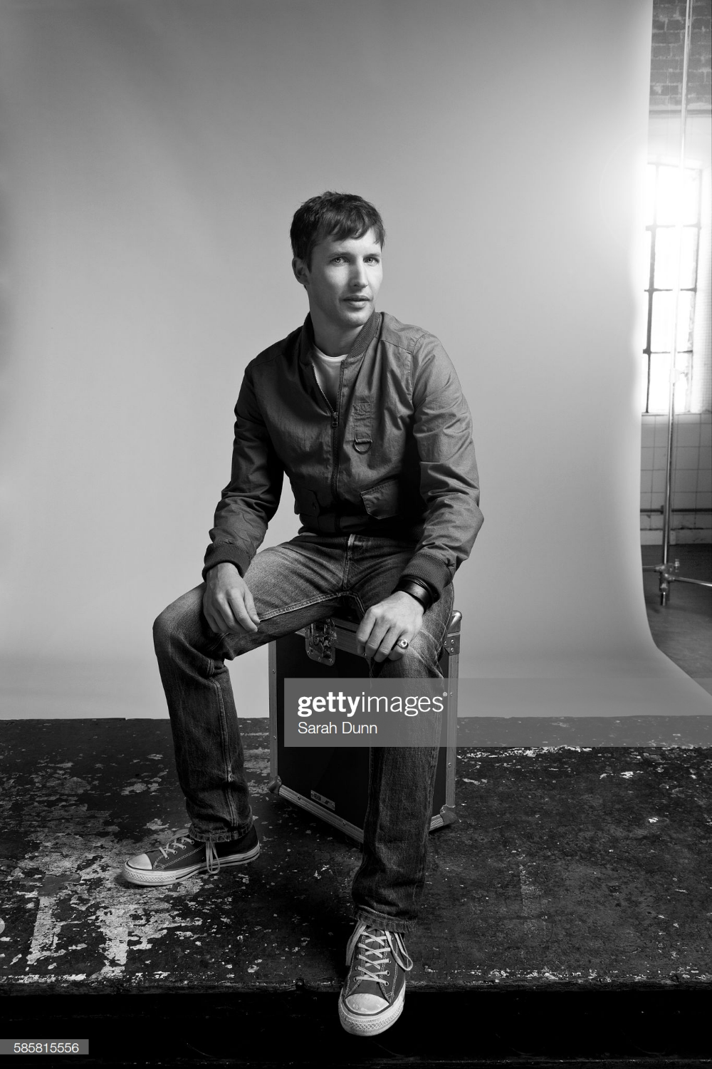 James Blunt is photographed for Red magazine on September 10, 2013 in London, England. (Photo by Sarah Dunn/Contour by Getty Images)